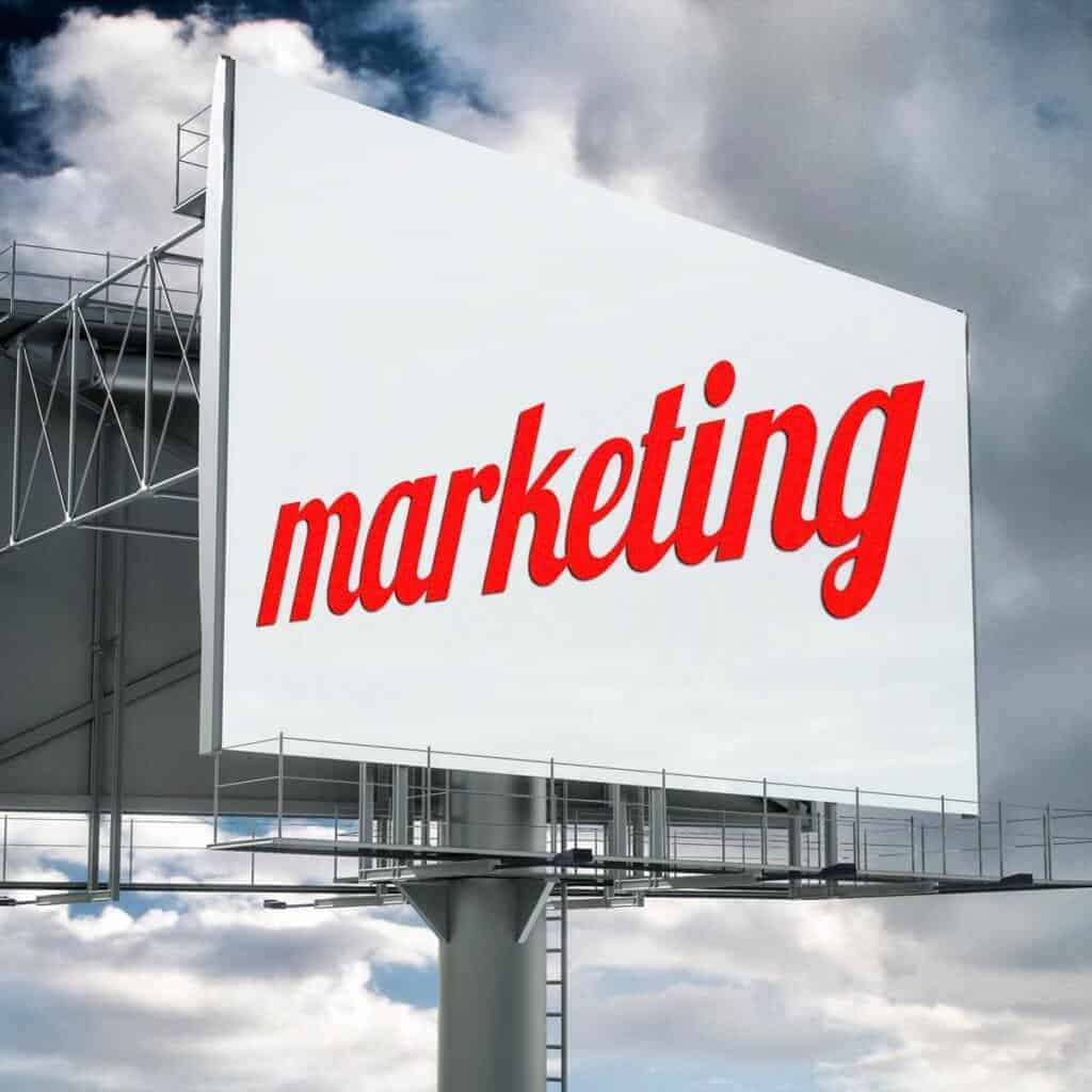Marketing Billboard