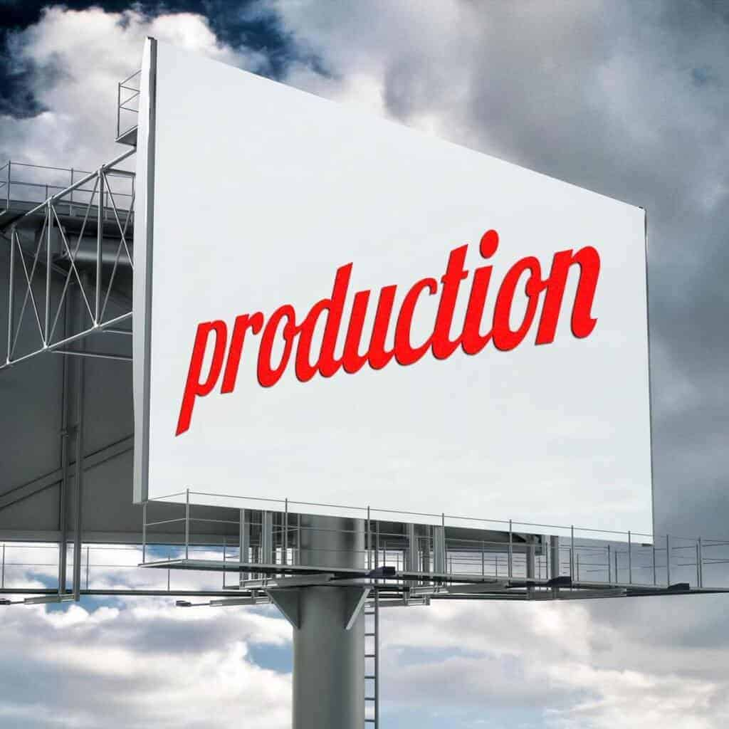 Production Billboard