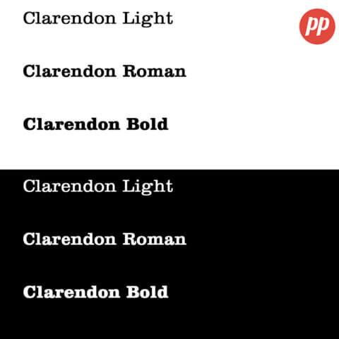 Proof Positive - Clarendon Font